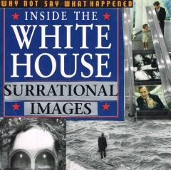 white house surreal collage