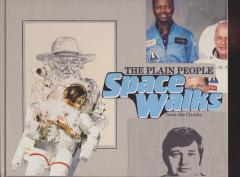 plain people space walk collage